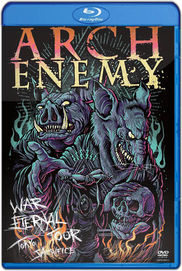 Arch Enemy War Eternal Tour: Tokyo Sacrifice (2016) HD 1080p