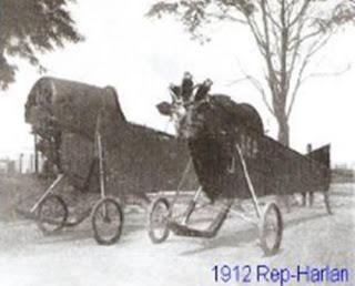 1912 Rep Harlan Uçağı