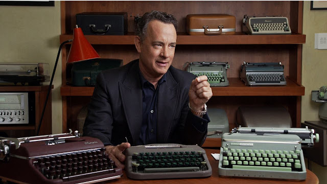 California Typewriter, Crítica, Tom hanks