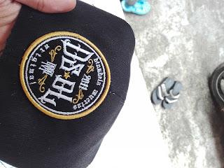 produksi topi bordir