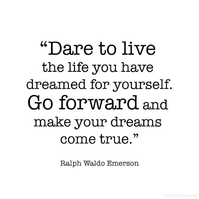 emerson quote dare to live