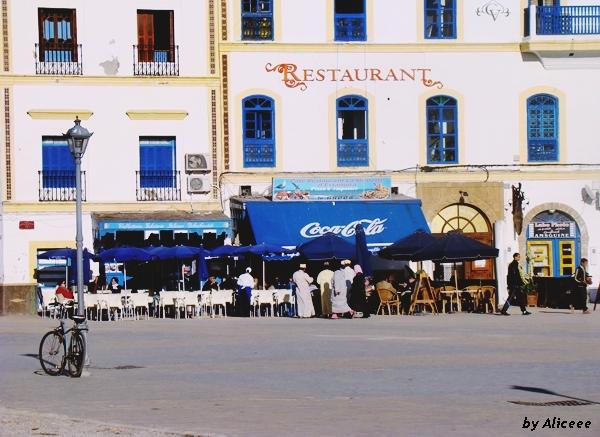 Plaza-Mulay- Hussein-Essaouira-Maroc