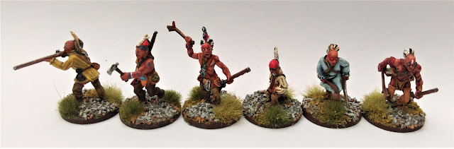 Warlord Games: 28mm metal Iroquois