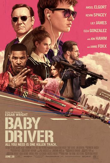 Baby Driver 2017 BRRip 720p English 1GB Download HD
