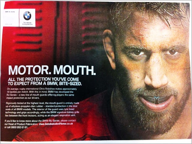 BMW April Fools ad 2015 Motor Mouth