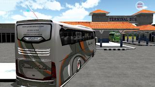 Rosalia Indah Limited Edition SHD - Download livery ES Bus Simulator ID 2 - EBS ID 2
