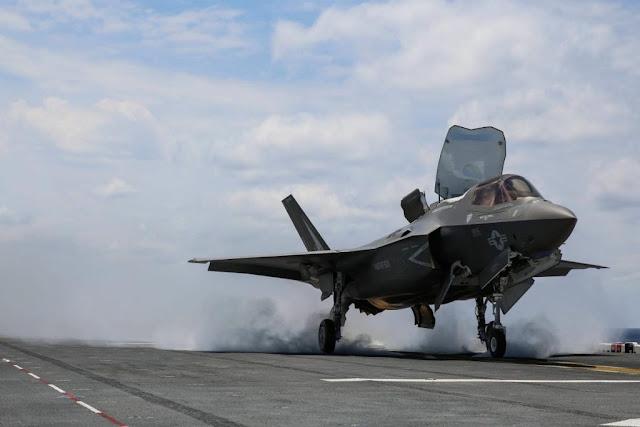 Marine F-35B Combat Strikes Afghanistan