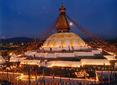 Largest Stupa Boudhanath in Nepal