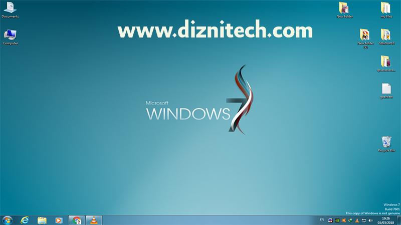 تحميل وتتبيث أصغر وأخف نسخة ويندوز Windows 7 Super Lite
