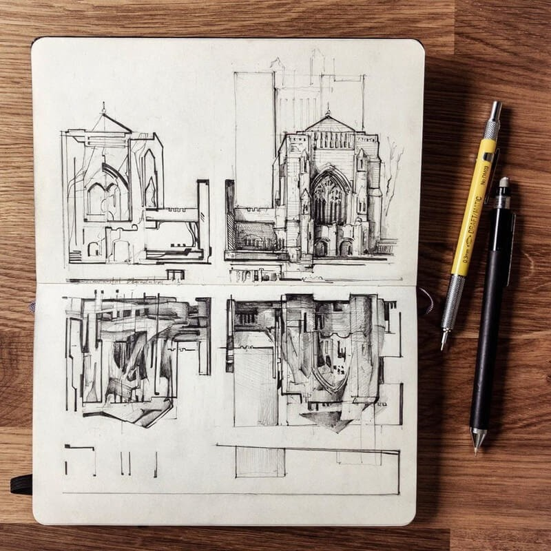 10-Old-sketch-Jerome-Tryon-Travel-Architectural-Urban-Sketches-www-designstack-co