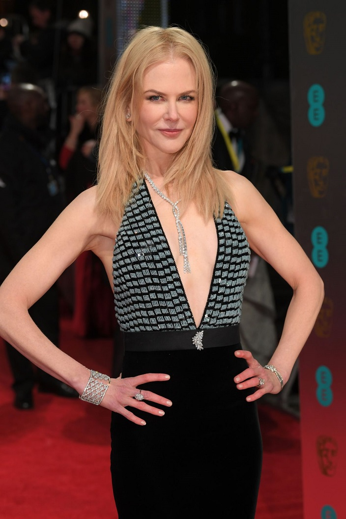 Nicole Kidman at BAFTA Awards 2017 in London, UK