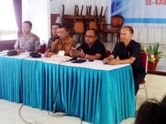 Sekda Pimpin Rapat Penyambutan Kunjungan, Ketua DPR RI Ke Selayar