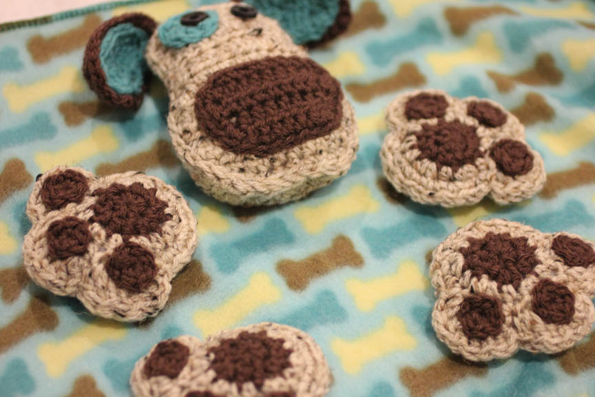 Puppy Dog Lovey Blanket Crochet Pattern Repeat Crafter Me