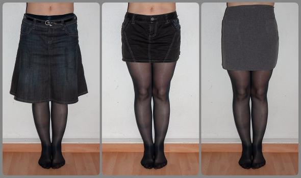 röcke, hotpants, jeans