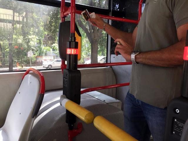 bus 170 con tornello atac