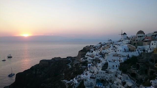 【希臘】聖托里尼島伊亞小鎮 欣賞世上「醉」靚的夕陽