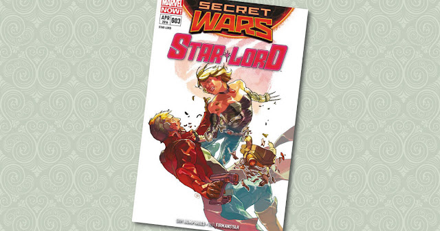 Star Lord 3 Panini Cover