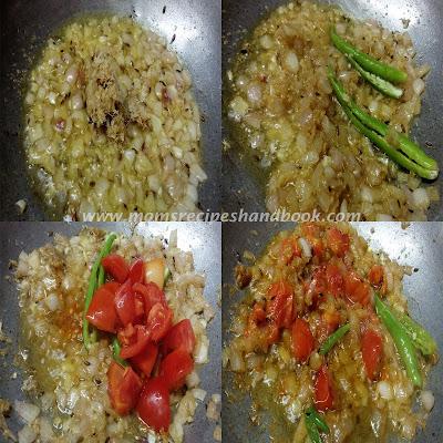 Andhra Style Potato and  Cauliflower Masala Recipe How to make