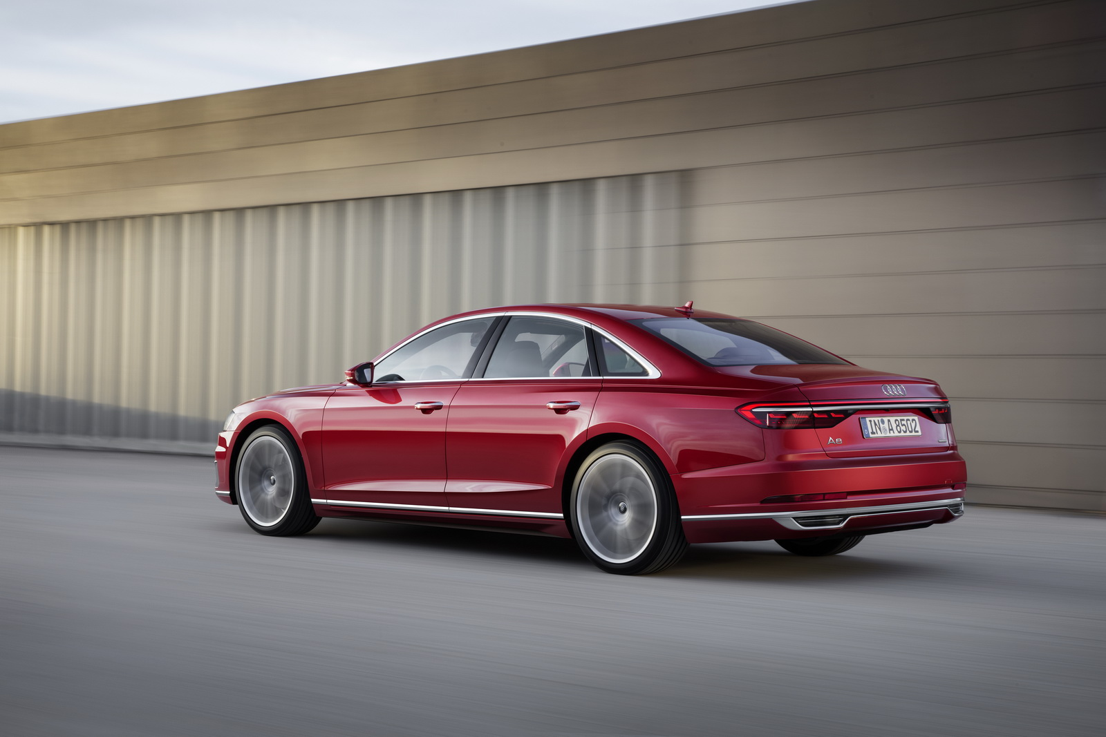 Audi Opens Order Books For New A8, Prices Start At €90,600 ...
