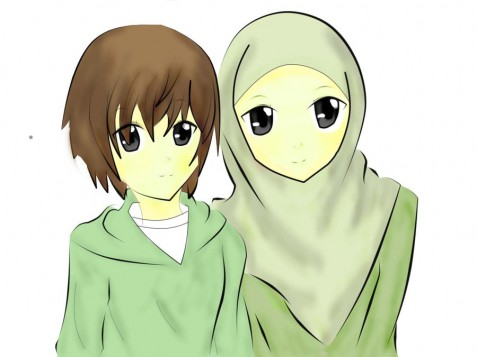 Gambar Pp Couple Sahabat | Anime Wallpaper