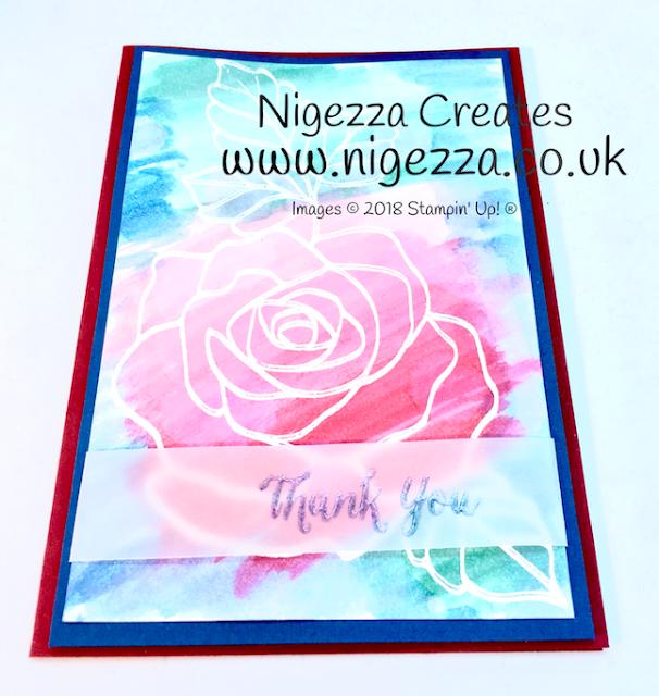 Nigezza Creates #stampinforall emboss resist challenge