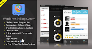 WPolling System is a powerful yet easy-to-use poll plugin
