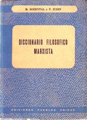 Diccionario filosófico marxista de M. Rosental