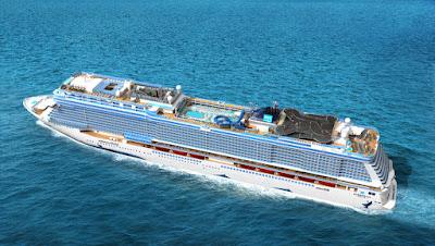 Norwegian Cruise Lines' Norwegian Bliss Arrives in New York