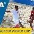Band mostra jogos do Brasil pela Copa do Mundo de Futebol de Areia em VT