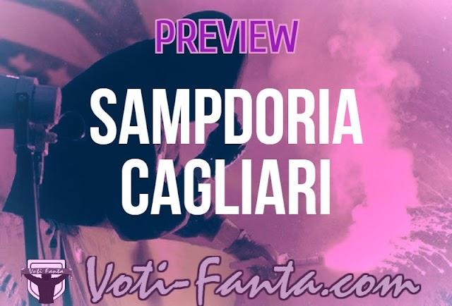 Preview Sampdoria Cagliari: probabili formazioni, infortunati, ultime notizie