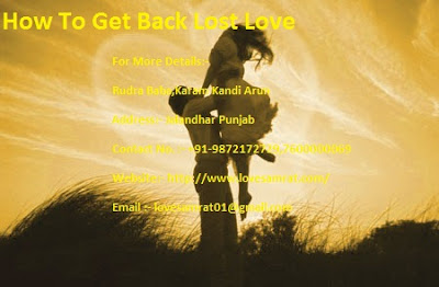How To Get Back Lost Love In Three Simple Steps