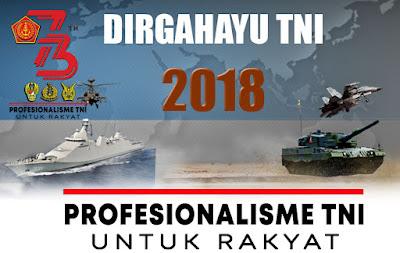 Ucapan Selamat Hari Tentara Nasional Indonesia | HUT TNI ke 73