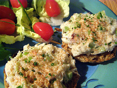 Closeup of Crab Salad