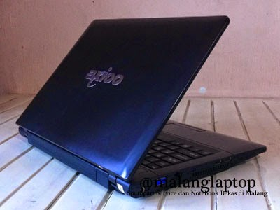 laptop second axioo neon mnc