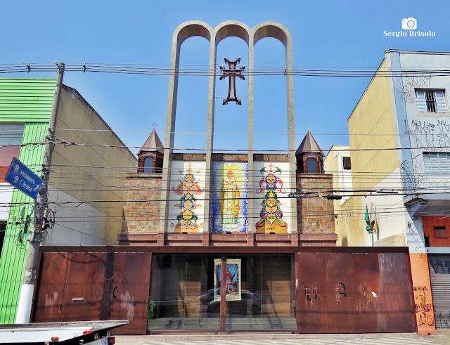 Vista ampla da Paróquia Armênia Católica - Luz - São Paulo