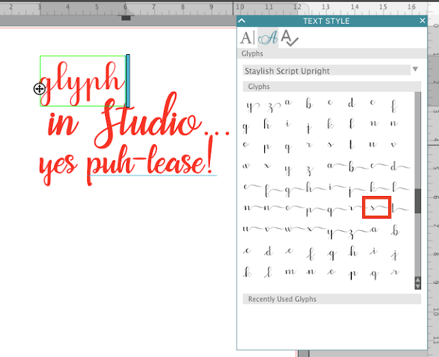 silhouette studio samantha font extra characters 4.1 tutorials silhouette new features