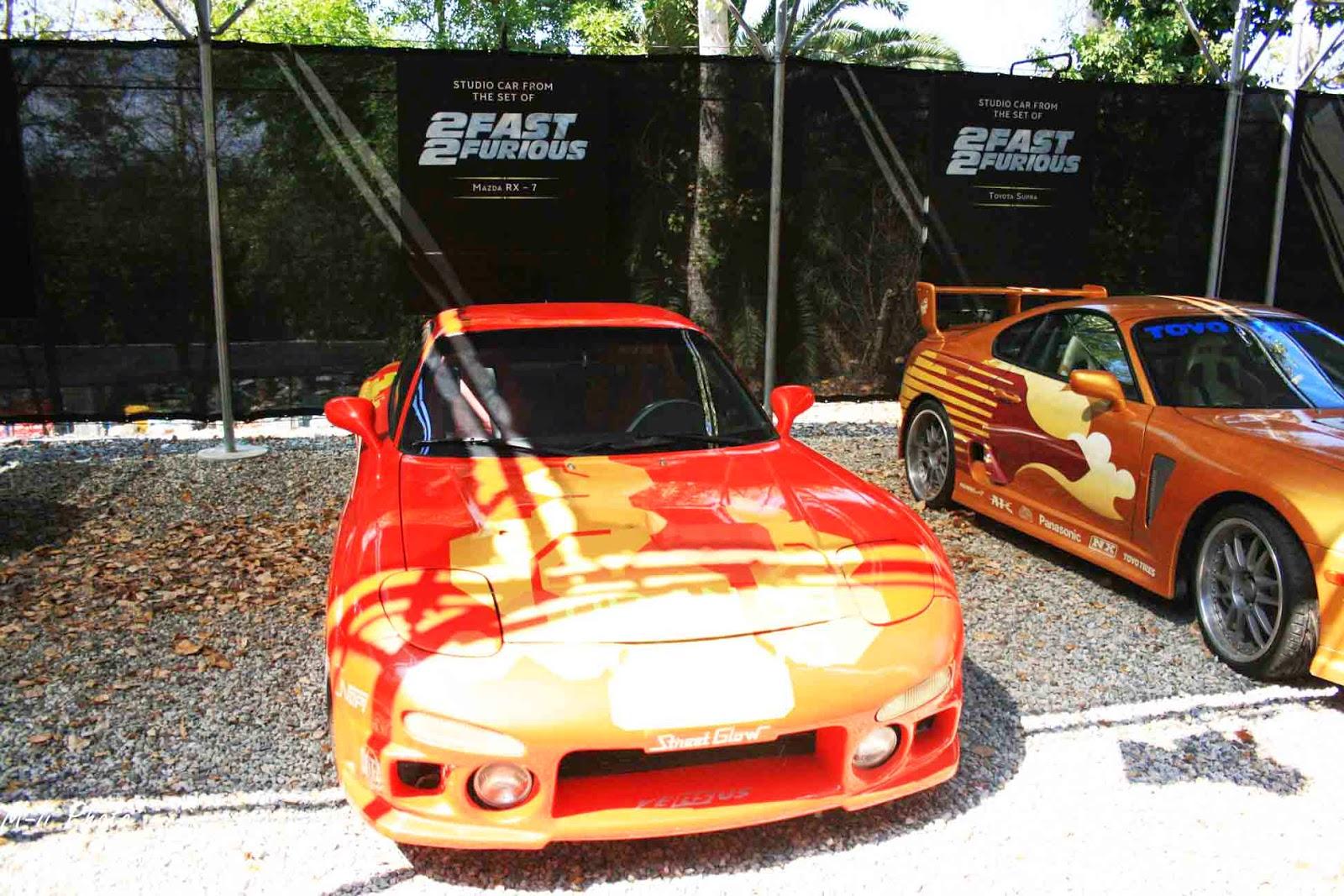 Les voitures de Fast & Furious Universal Studios Hollywood