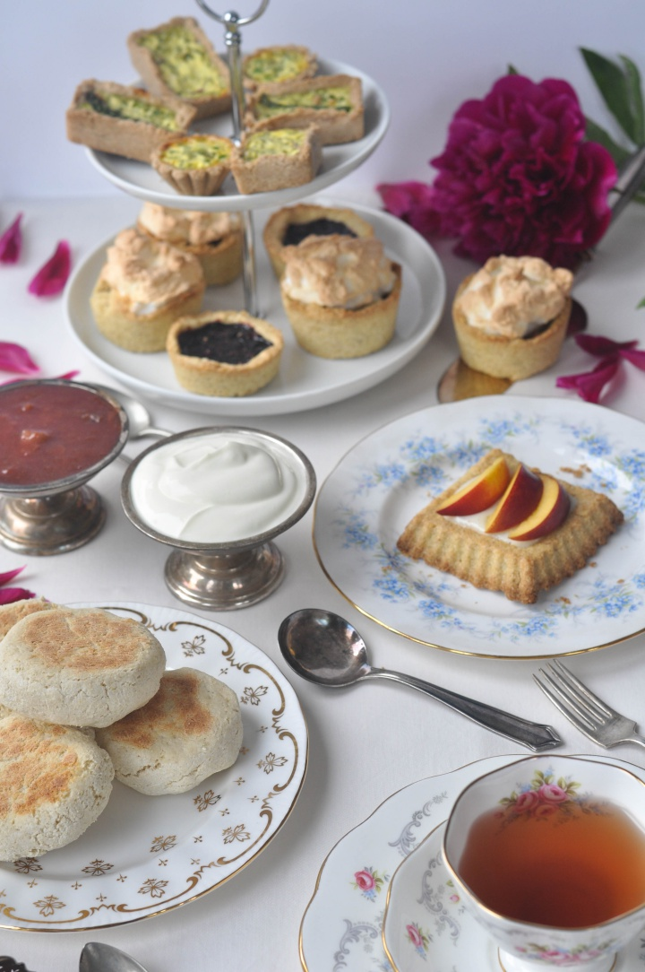 glutenfree Scones, one of your Afternoon Tea's stars
