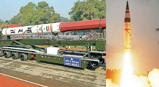 India successfully test-fires nuclear-capable missile Agni-IV
