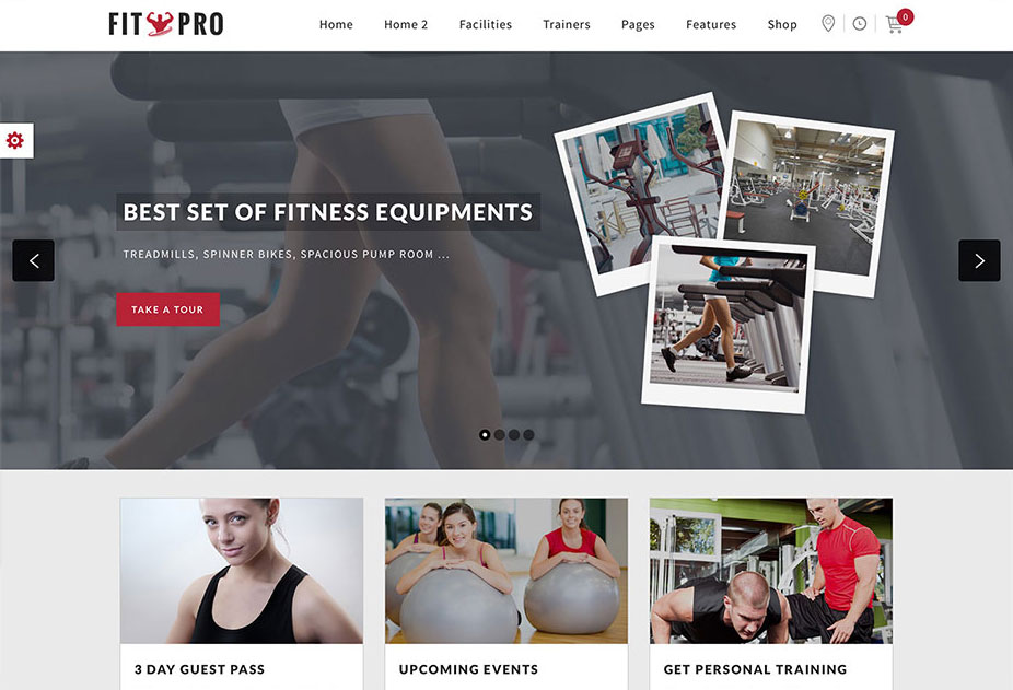 FitPro - Fitness Gym Sports WordPress Theme