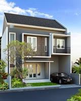 harga rumah tingkat minimalis modern