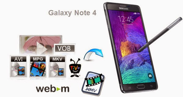 Convert Video to Galaxy Note 4