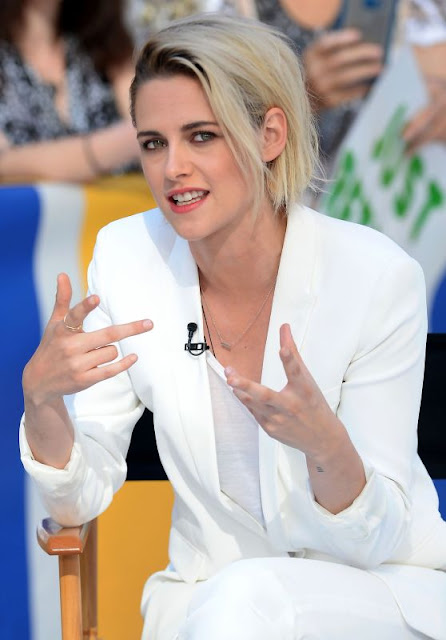 Kristen Stewart at Good Morning America in New York City