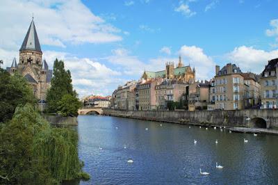 Blick auf Metz