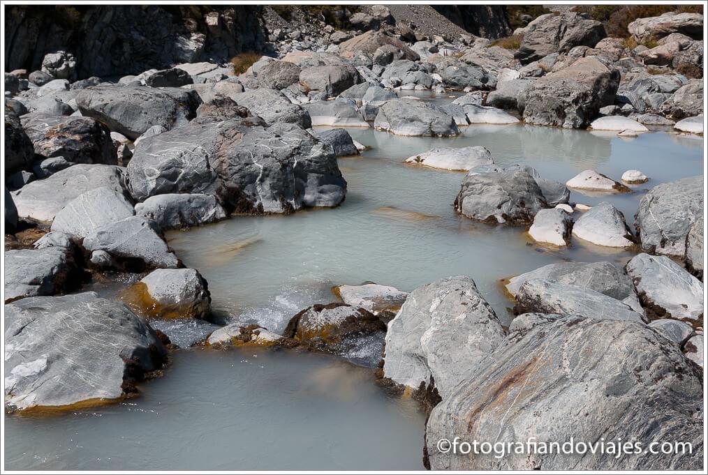 rio cerca del monte Cook