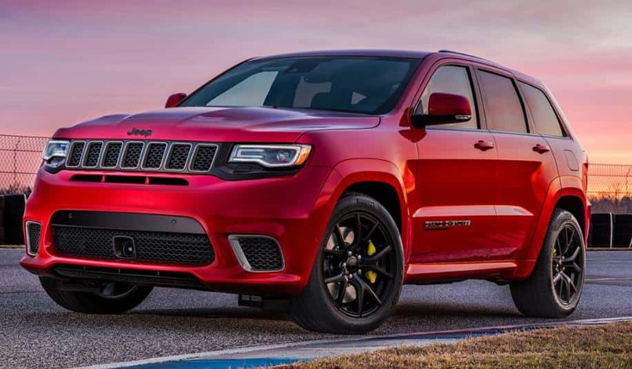 Redesigned jeep grand cherokee