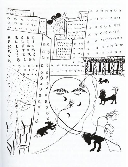 """Federico García Lorca, <<Autorretrato para """"Poeta en Nueva York"""">>"""