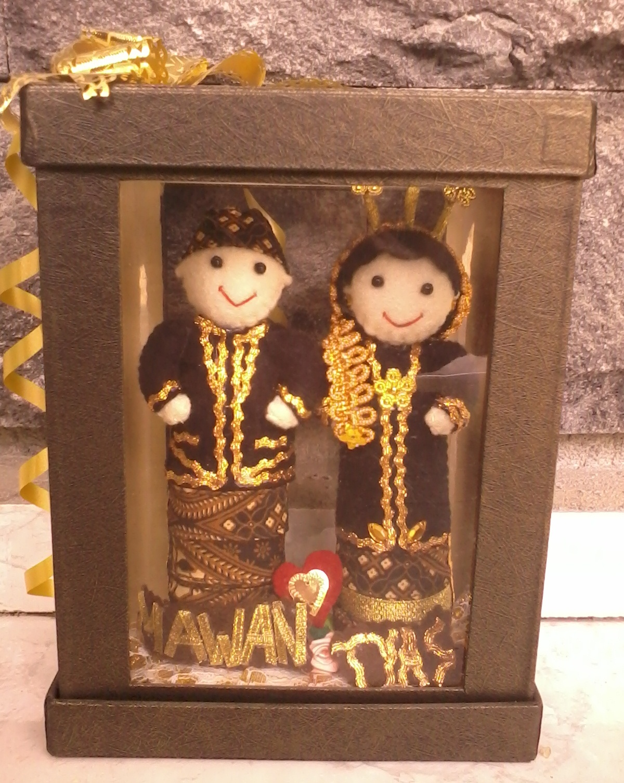 Boneka Pengantin Jawa  Toko Online Bantal Handmade  Jual Bantal Wisuda