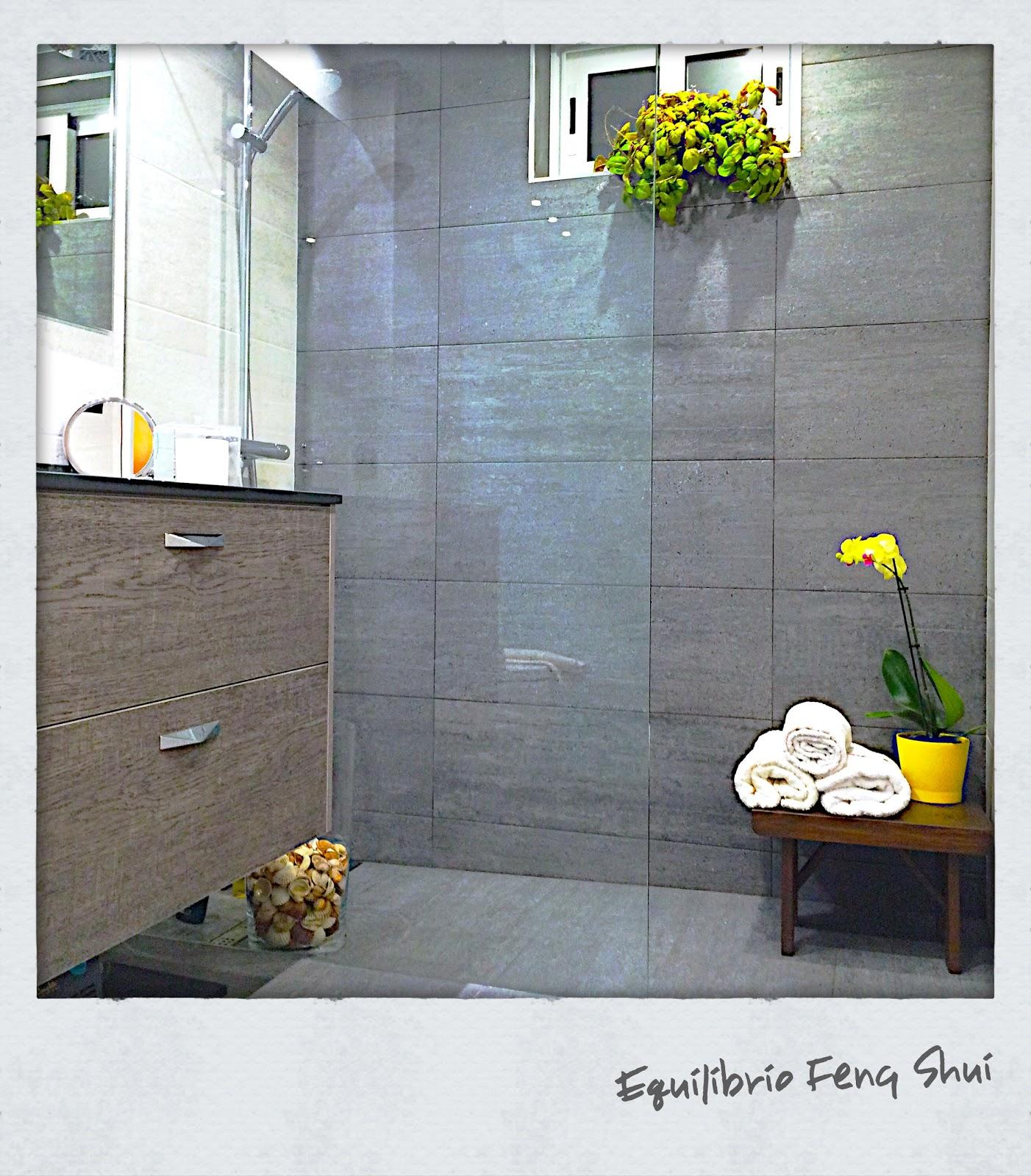 Equilibrio Feng Shui: baño