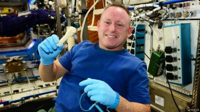 ناسا ترسل مفكاً بالبريد الإلكتروني إلى محطة الفضاء الدولية